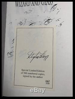 Wizard And Glass SIGNED by STEPHEN KING Dark Tower IV Hodder Limited Hardback