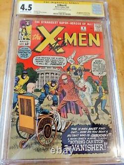 X-MEN # 2 (1963) CGC 4.5 Second App. X-Men Cover by Kirby SS Stan Lee