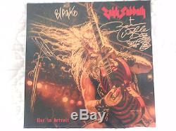 Zakk Sabbath Live In Detroit Lp Signed Wylde Opaque Purple Vinyl In Concert
