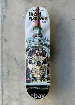 Zero x Iron Maiden Aces High 1st Edition Deck Signed by Jamie Thomas