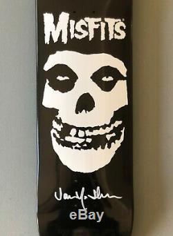 Zero x Misfits 1st Edition Fiend Skull Signed by Jamie Thomas
