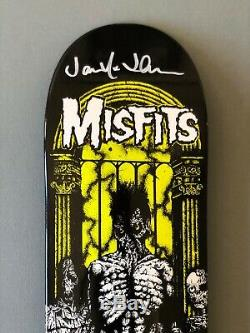 Zero x Misfits 1st Edition Zero A. D. Sample Signed by Jamie Thomas